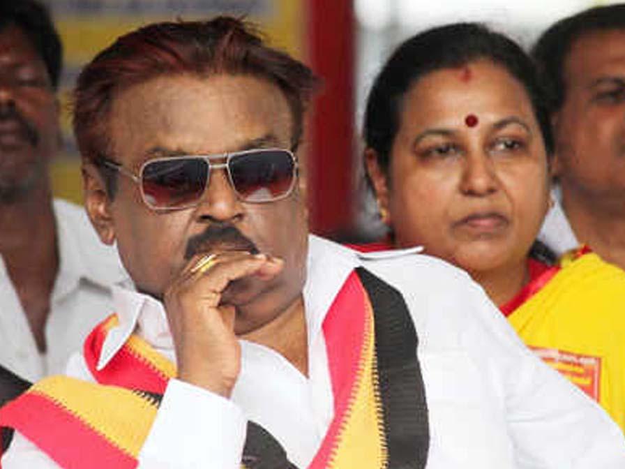 DMDK Leader Vijayakanth