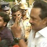 DMK leader MK Stalin casts his vote