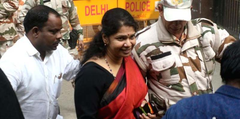 IT raid in Kanimozhi house