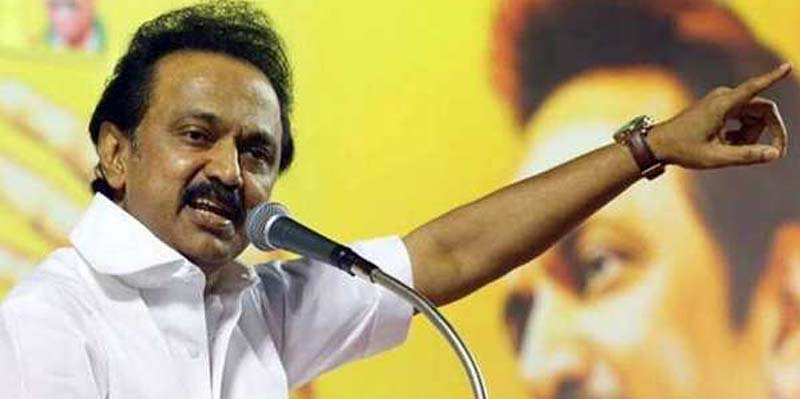 M.K Stalin starts 4 constituency byelection campaign on May 1st