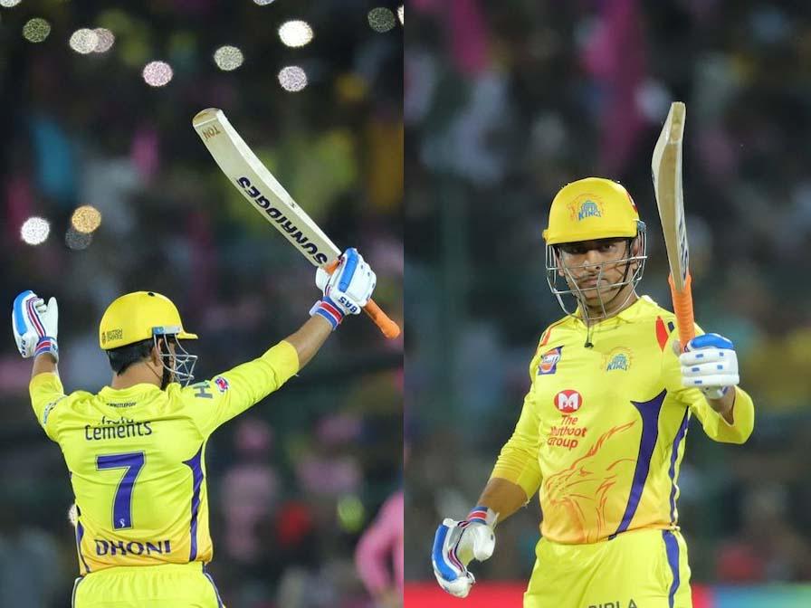 Chennai Super Kings beat Rajasthan Royals by 4 wickets
