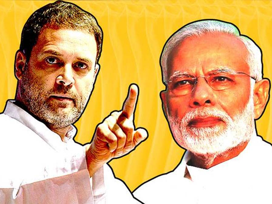 Where is Rs 15 Lakh as Promised asks Rahul Gandhi to PM Modi